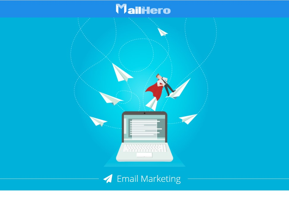 Servizio email marketing MAILHERO